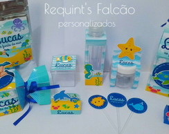 Kit personalizado fundo do mar