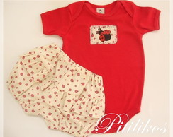 Conjunto Body e Short - Joaninha