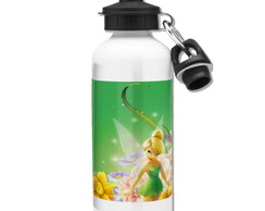 Squeeze Tinker Bell Mod 01 - 2 Tampas - Branco - 500ml