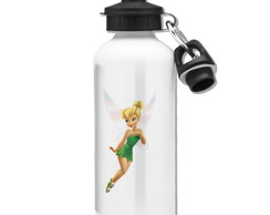 Squeeze Tinker Bell Mod 03 - 2 Tampas - Branco - 500ml