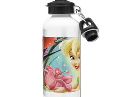 Squeeze Tinker Bell Mod 05 - 2 Tampas - Branco - 500ml