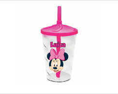 Copo Twister Minnie Rosa