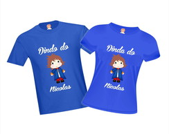 df785332ab Camisetas de Aniversário Selva Floresta Animais Bichinhos no Elo7 ...