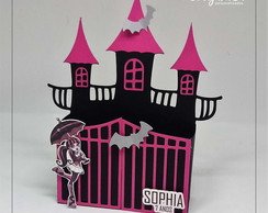 Caixa Castelo Monster High