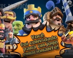 CONVITE CLASH ROYALE ANIMADO