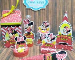 Kit Festa - Minnie Vermelha