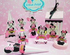Kit Festa - Minnie Rosa