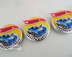 Personalizados Hot Wheels - Latinha
