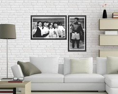 Conjunto placas decorativas Beatle s