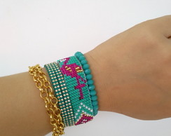 Mix de Pulseiras Candy Colors