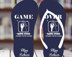 Chinelo Casamento Game Over