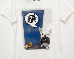 Camiseta BULLDOG Lets Play