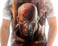 Camisa Camiseta Personalizada God Of War Jogo Ps3 1
