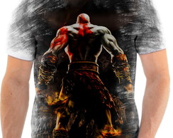 Camisa Camiseta Personalizada God Of War Jogo Ps3 2