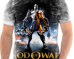 Camisa Camiseta Personalizada God Of War Jogo Ps3 3