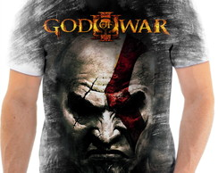 Camisa Camiseta Personalizada God Of War Jogo Ps3 4