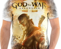 Camisa Camiseta Personalizada God Of War Jogo Ps3 5