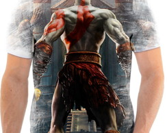Camisa Camiseta Personalizada God Of War Jogo Ps3 6