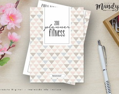 Planner Fitness Digital - Cód 01