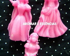 Mini sabonete princesas