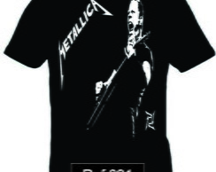 Camiseta Metallica James Hetfield