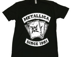 Camiseta Metallica Since 1981