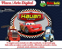 Placa Carros - Arte Digital