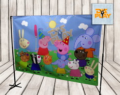 Painel Peppa Pig
