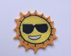 PATCH BORDADO SOL TERMOCOLANTE