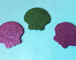 Concha com Glitter - Fundo do Mar