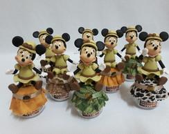 POTINHO MICKEY E MINNIE SAFARI
