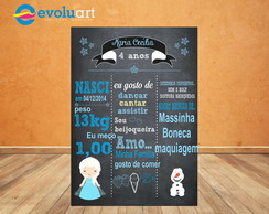 Chalkboard Digital Frozen (ARTE DIGITAL)
