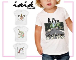 Camiseta Infantil Feminina Iaiá Brasil - The Beagles