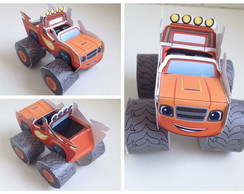 Carro Blaze and the Monster Machines 3D