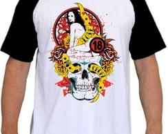8121a2a33c8 Camiseta Raglan Estampa Moderna Radical Diversas Mod 05 no Elo7 ...
