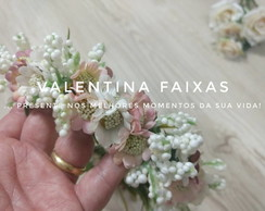 Headband de Flores artificiais