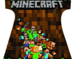 Kit mae e filha minecraft
