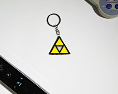 Chaveiro Triforce Zelda