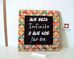 Quadros, Porta chaves e Placas decorativas