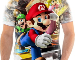Camisa Camiseta Personalizada Super Mario World