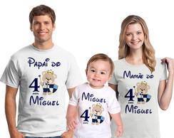 b238fe2d87 Bata e Camiseta Chá de Revelação Menino ou Menina Ursinhos no Elo7 ...