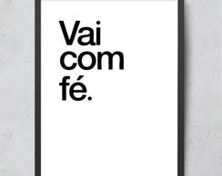 Poster Digital Cafe Fe Bom Dia 30 Cm X 30 Cm Elo7
