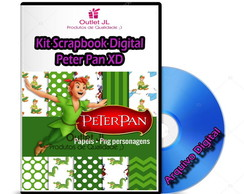 Kit Scrapbook Digital - Peter Pan XD