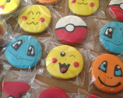 Biscoito Decorado - Pokemón