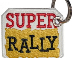 Chaveiro Patch Bordado - Super Rally AD30066