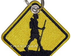 Chaveiro Patch Bordado - Trekking AD30069