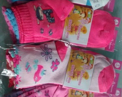 Kit com 12 pares de Meias infantil