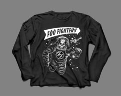 Manga Longa Masculina Foo Fighters