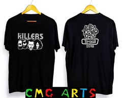 Camiseta the killers Red hot chili peppers, lollapalooza