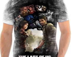 Camisa Camiseta Personalizada Jogo The Last Of Us ps3 ps4 1